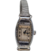 1927 Art Deco 14k Bulova Wristwatch