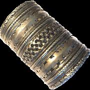 Adjustable Vintage Cuff - Bracelet - Boho - Gypsy - Tribal - Kuchi Tribe - Handmade - Afghanistan
