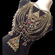 Vintage Necklace - Tribal - Kuchi Tribe - Afghanistan