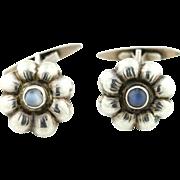 Rare Arts and Crafts Era Silver Cufflinks c.1910