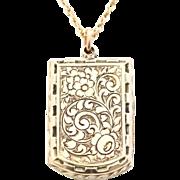 Superb Victorian 9ct Gold Locket - Circa 1880