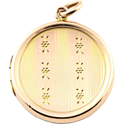 Beautiful Antique 9ct Rose Gold Locket - English Hallmarks for Chester c.1912