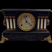 1909 Antique Wm L Gilbert Co Mantle Clock the Austria Model