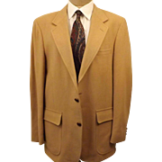 80's Woolrich Men's Sport Coat Camel Color Size 40R