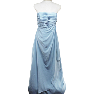 Jordan Fashions Blue Evening Gown Size 8