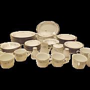 Vintage 60's Noritake Inverness Japanese China Dinnerware Set for 8