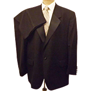 60's John Weitz Signature Collection Black Formal Tuxedo Size 46