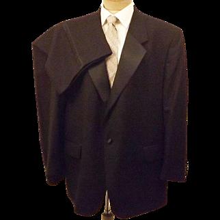 60's John Weitz Signature Collection Black Formal Tuxedo Size 46
