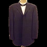 Vintage Men's Bachrach Black Dinner Jacket Sport Coat Size 42