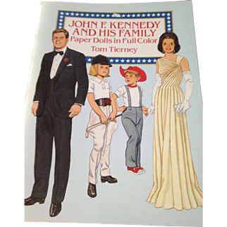John F Kennedy and his family Paper Dolls