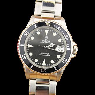 Vintage Tudor Prince Oysterdate Submariner 75090 w/ Original Box & Tag
