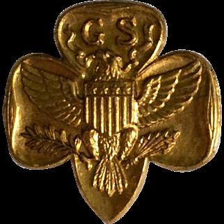 Vintage Girl Scout Membership Pin