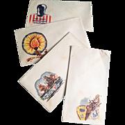 Set of WWII Jacques Minkus Cachet U.S. Patriotic Envelopes