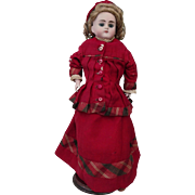 Alt Beck & Gottschalk  very nice Doll, head and shoulders bisque, height  about 16 inches