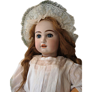 """Antique Doll French TeTe Jumeau, size 15 , 32"""" tall (80 cm)!"""