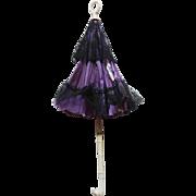 antique umbrella / parasol to dolls , High 15 inches (38cm)