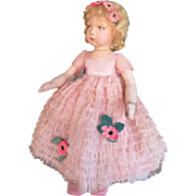 Lenci doll  , series 109 , all original , near mint , high 23 inches (58 cm). SPECTACULAR !!