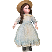 Very sweet and nice doll marked SFBJ , 1899-1910, high 25 inches about (64cm)