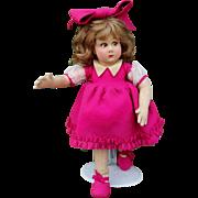 All original Lenci doll , series 111 , high 13 inches (34 cm).
