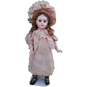 "Beautiful and rare French Bisque Doll ""BeBe Reclame"" by Jumeau , high about 21/22  inches (55 cm)"