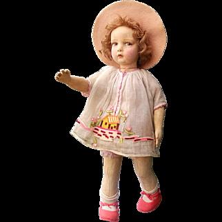 Lenci doll  , series 109 , all original , high 23 inches (58 cm)