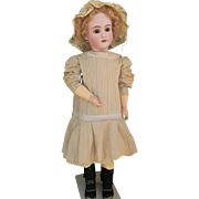 Extraordinary beautiful big doll Handwerk Simon & Halbig, year 1900. height  31 inches