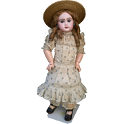 Gorgeous  Depose' Tete Jumeau, open mouth, size 8,  19 inches (48 cm)