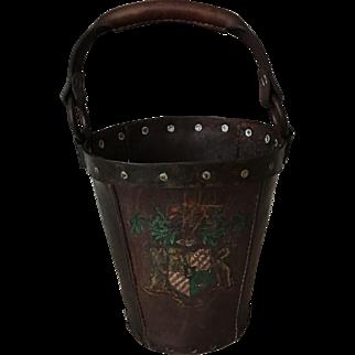 18th century Scottish/English fire bucket