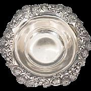 Sterling Silver Art Nouveau Tiffany & Co. Berry Bowl