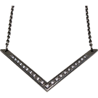 Vintage Platinum Necklace – Loupe Clean Diamonds
