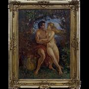 Adam and Eva - Herman Lipot, (1884 - 1972), Hungary