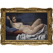 Amazing Nude - Vladimir Stribrny (1905 - 1970), Bohemia