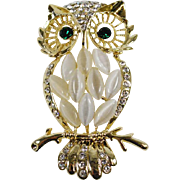 Brooch Owl