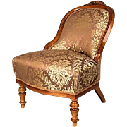 Neo-Baroque Chair, France 1860