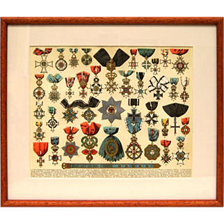 Chromolithograph - Honors 1890