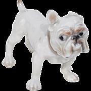 Porcelain bulldog - Denmark, Bing & Grøndahl, 1940