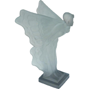 Night butterfly - glass statue - Curt Schlevogt