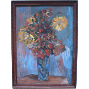 Bouquet - Oil on board