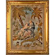 French hand-woven tapestry, 1790