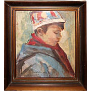 The boy in the belay, date 1967