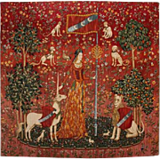 French Tapestry - Lady and Unicorn.
