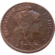 5 centimes - 1912 , France