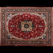 Rare Hand Tied Carpet - Moud, Iran