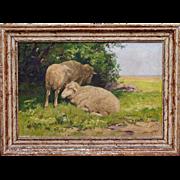 Sheep - Vojtech Hynek Popelka (1888 - 1961) Czech