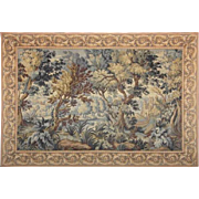 French Tapestry - View from the forest to the castle