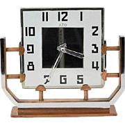 Leon Hatot - ATO clock, Art deco, France