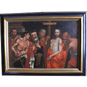 Christ carrying the cross, late 17th century