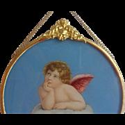 Little Angel on porcelain