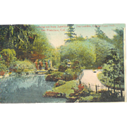 CA San Francisco 1900's Tea Garden Golden Gate Park Postcard