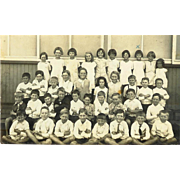 MO West Wortham Class School Postcard RPPC 1930s